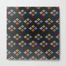 Las Flores 02 (Patterns Please) Metal Print
