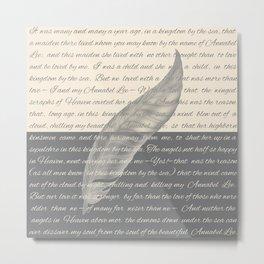 ANNABEL LEE (Allan Poe) Metal Print