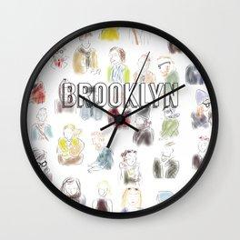 Brooklyn Subway Rush Hour Wall Clock