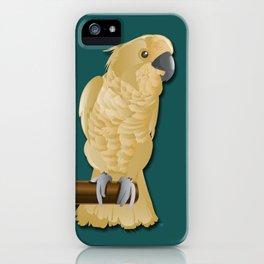 Ivory the Bird iPhone Case
