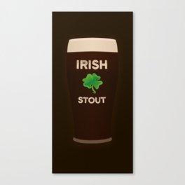 Irish Stout Canvas Print