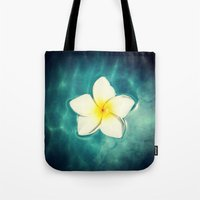 lily Tote Bags featuring Lily by Ken Seligson