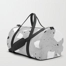 painted terrazzo 3 Duffle Bag