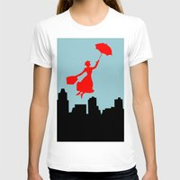 mary poppins T-shirts featuring Mary Poppins  by Sammycrafts