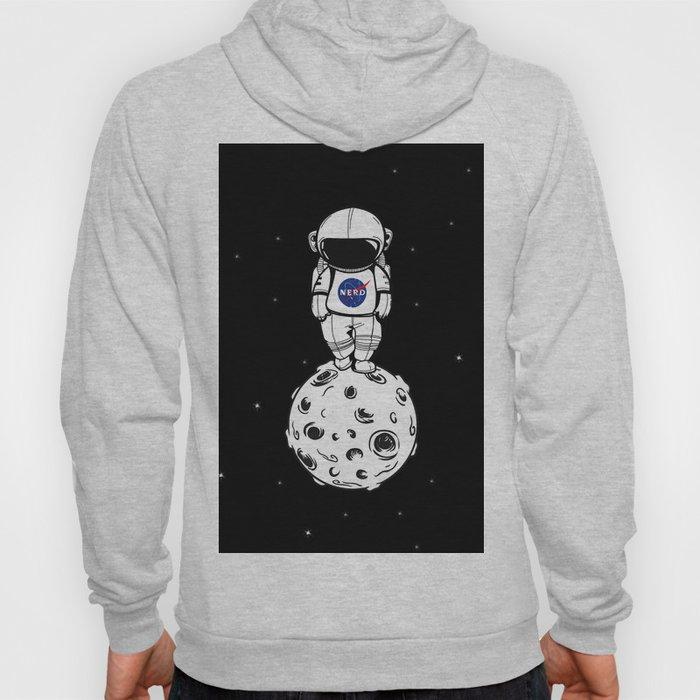 rolling in space Hoody
