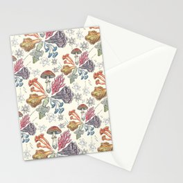 Mushroom Color Wheel Stationery Cards