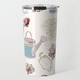 Cozy kitchen garden Travel Mug