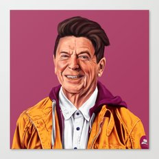 Hipstory - Ronald Reagan Canvas Print