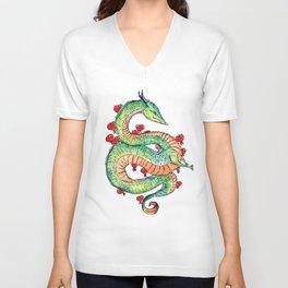 Chinese Zodiac: Dragon Unisex V-Neck