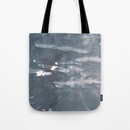 Slate gray abstract watercolor painting Tote Bag