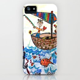 :: Row, Row, Row Your Boat :: iPhone Case