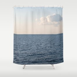 Cloud Contemplation Shower Curtain