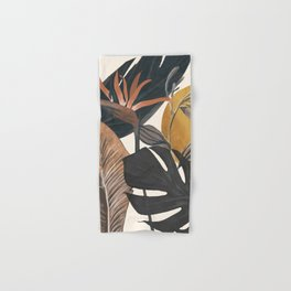 Abstract Tropical Art III Hand & Bath Towel