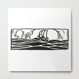 Little ship Metal Print