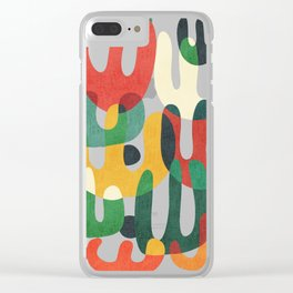 Cactus Clear iPhone Case