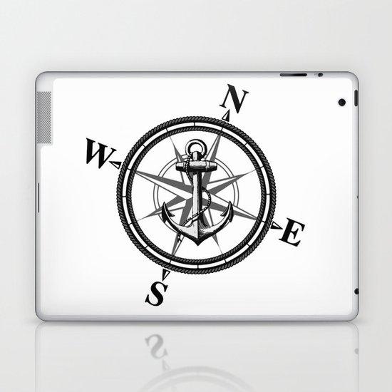 Nautica BW Laptop & iPad Skin