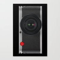 vintage camera Canvas Prints featuring Vintage Camera by Bright Enough💡
