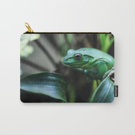 little green frog Carry-All Pouch