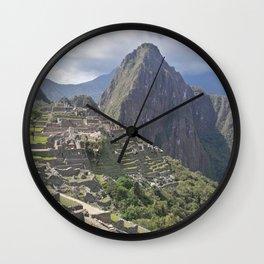 Machu Pichu Cuzco Peru Wall Clock