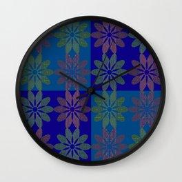Flower Pattern4 Wall Clock