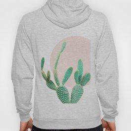Cacti, Cactus decor, Pastel, Plant, Pink, Minimal, Interior, Wall art Hoody