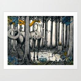 Kentauride. Art Print
