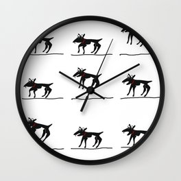 Cur Grr Wall Clock