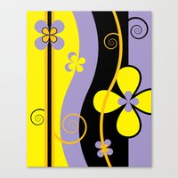blossom Canvas Prints featuring Blossom by Graphic Tabby