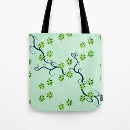 Handbag Heave Blues - detail Tote Bag