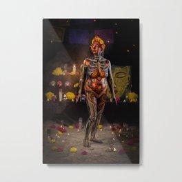 Dia de Los Casi Muertos - Elisa Metal Print