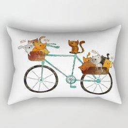 bicycle /Agat/  Rectangular Pillow