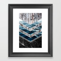 Striped Materials of Nature III Framed Art Print