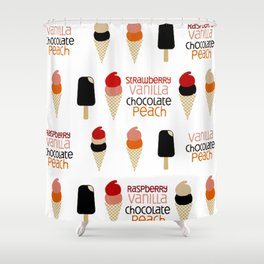Ice Cream Age Shower Curtain