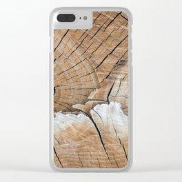 log(ed) Clear iPhone Case