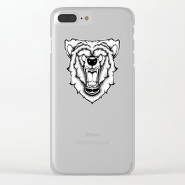 The Bear Clear iPhone Case