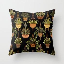 Rhoda's Macrame Throw Pillow