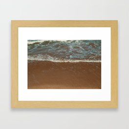 Peaceful Waves Framed Art Print