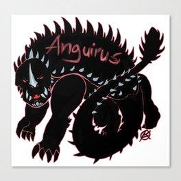Anguirus Kaiju Print FC Canvas Print