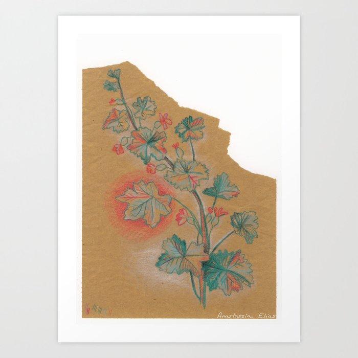 Plante 1 - 211216 Art Print
