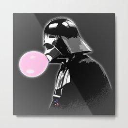 Bubblegum bubble - Vader Style Metal Print