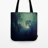 howl Tote Bags featuring Howl by Slight Clutter