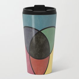 Matthew Luckiesh: The Subtractive Method of Mixing Colors (1921), vintage re-make Travel Mug