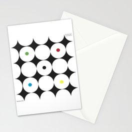 Vorstellungen der Tanzkultur Stationery Cards