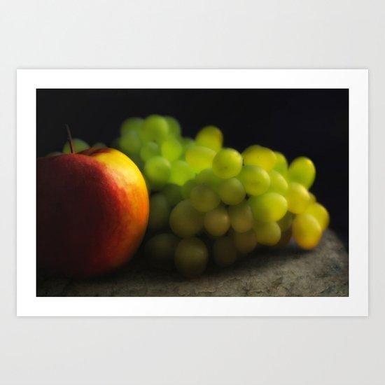 Fruit of the season Art Print