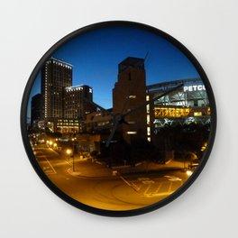 Petco Park at Night Wall Clock