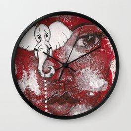 Come Thru Diva Wall Clock