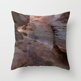 Little_Wild_Horse Canyon 0696 - Utah Throw Pillow