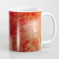 pomegranate Mugs featuring pomegranate by Motif Mondial