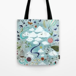 Let's Take the Train Tote Bag