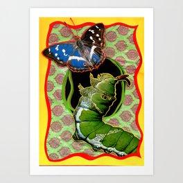 Catapillar Art Print